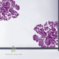 Luxury Flower Set Wall Art Sticker - PD095