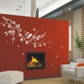 Luxury Birds and Tree Wall Art Sticker - PD317