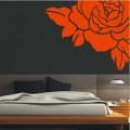 Luxury Rose Flower Wall Art Sticker - PD170