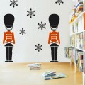 The Nutcracker Toy Soldiers Nursery Wall Art Sticker - PD309