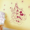 Disney Mickey and Friends Nursery Wall Art Sticker - PD280