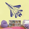 Nursery Jet Plane Wall Art Sticker - PD287