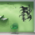Top Design Batman Wall Art Sticker - PD240